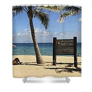 Fort Lauderdale Beach Shower Curtain