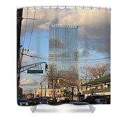 Fort Lee Hi Rise Shower Curtain