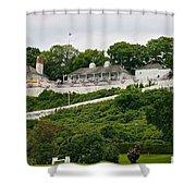 Fort Mackinac Shower Curtain