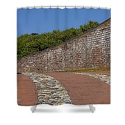 Fort Macon Shower Curtain