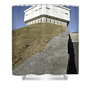 Fort Mcclary - Kittery Maine Usa Shower Curtain