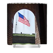 Fort Mchenry Star Spangled Banner Shower Curtain
