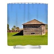 Fort Meigs Shower Curtain