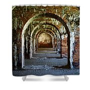 Fort Morgan Arches Shower Curtain