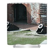 Fort Morgan Mortars Shower Curtain
