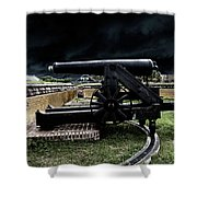 Fort Moultrie Magic Shower Curtain
