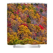 Fort Mountain State Park Cool Springs Overlook Shower Curtain