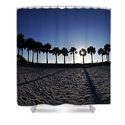 Fort Myers Beach Florida I Shower Curtain