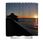 Fort Myers Beach Florida II Shower Curtain