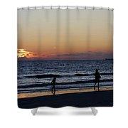 Fort Myers Beach Florida Iv Shower Curtain
