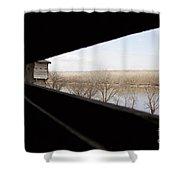 Fort Osage Shower Curtain
