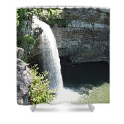 Fort Payne Waterfall Shower Curtain