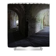 Fort Pickens Corridor 2 Shower Curtain