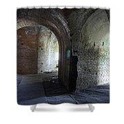 Fort Pickens Corridors Shower Curtain