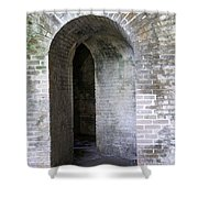 Fort Pickens Entrance Shower Curtain