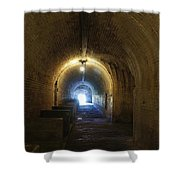 Fort Pickens Hall Shower Curtain