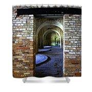 Fort Pickens Interior Shower Curtain