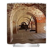 Fort Pulaski II Shower Curtain