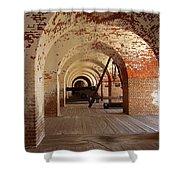 Fort Pulaski II Shower Curtain