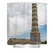 Fort Ridgely Memorial 1 Shower Curtain