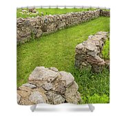 Fort Ridgely Remains 2 Shower Curtain