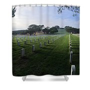 Fort Rosecrans National Cemetery Shower Curtain