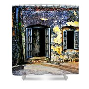 Fort San Juan Shower Curtain
