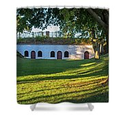 Fort Sewall Marblehead Ma Shower Curtain