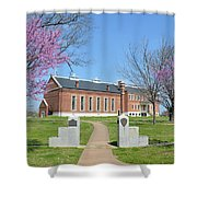 Fort Smith National Historic Site Gateway C Shower Curtain