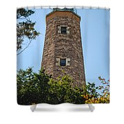 Fort Story Light House Shower Curtain