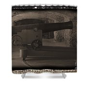 Fort Sumpter Cannon Shower Curtain