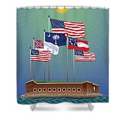 Fort Sumter, Charleston, Sc Shower Curtain