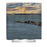 Fort Sumter Protection Shower Curtain