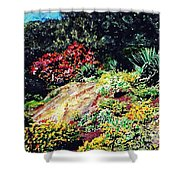 Fort Tryon Park Shower Curtain