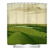Fort Union, Mouth Of The Yellowstone River, 2000 Miles Above St. Shower Curtain