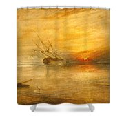Fort Vimieux Shower Curtain
