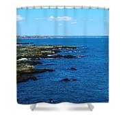 Fort Williams Park Shower Curtain