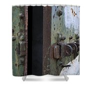 Fort Worden Detail 3586 Shower Curtain