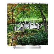 Fort Worth Botanic Garden Shower Curtain