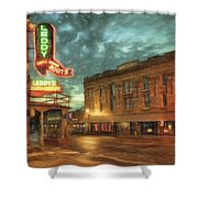 Fort Worth Impressions Main And Exchange Shower Curtain