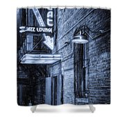 Fort Worth Impressions Scat Lounge Bw Shower Curtain
