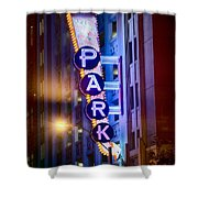 Fort Worth Park Sq Shower Curtain