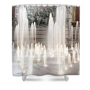 Fort Worth Sundance Square 33117 Shower Curtain