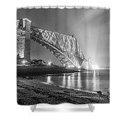 Forth Bridge Landscape Shower Curtain