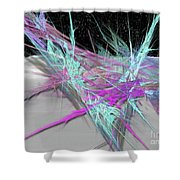 Fortress Of Solitude Shower Curtain