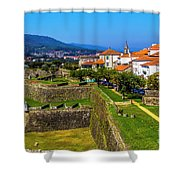 Fortress Walls Shower Curtain