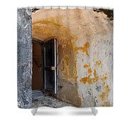 Fortress Window Shower Curtain