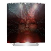 Fortune Teller Shower Curtain