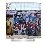 Forty Years Shower Curtain