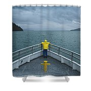 Forward Lookout Shower Curtain